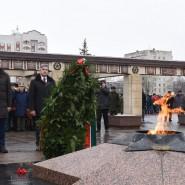 День защитника Отечества в парке Победы 2020 фотографии