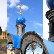 Часовня на месте обретения Казанской иконы Божьей Матери фотографии