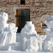 Форум снежных фигур в Казанском зооботсаду 2019 фотографии