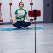 Онлайн-тренировки в рамках проекта «Зеленый фитнес» 2020 фотографии