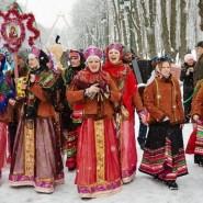 Рождественские песнопения на ярмарочной площади 2018 фотографии