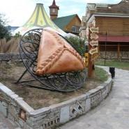Памятник татарскому пирожку «Эчпочмак» фотографии