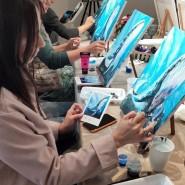 Мастер-класс по рисованию акрилом 2021 фотографии
