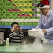 Научное шоу «Секретная лаборатория Деда Мороза: Перезагрузка» 2019 фотографии