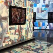 Мультимедийная инсталляция «Павел Филонов» фотографии