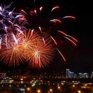 Праздничный салют в честь присвоения Казани звания «Город трудовой доблести» 2020 фотографии