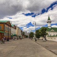 Кинопоказы под открытым небом в Старо-Татарской слободе 2019 фотографии