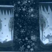 Мастер-класс по созданию новогодних светильников «Ледяная сказка» 2018 фотографии