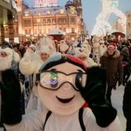 Шествие Дедов Морозов 2019 фотографии