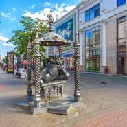 Памятник Коту Казанскому фотографии