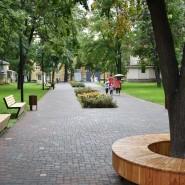 Сквер имени Аксенова фотографии