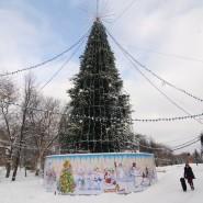 Открытие ёлки в парке «Крылья Советов» 2018 фотографии
