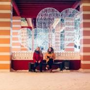 Сказочный городок на Кремлёвской набережной 2018 фотографии