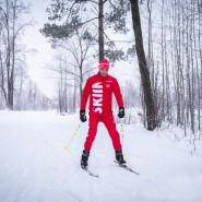 Открытая тренировка по лыжам 2018 фотографии