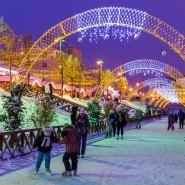Открытие новогодних городков 2017 фотографии
