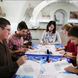 Акция «Ночь искусств» в Казанском кремле 2018
