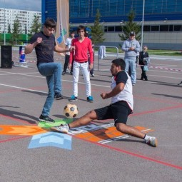Соревнования по дворовой игре «квадрат» 2017