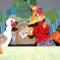 Кукольный спектакль «Гусенок»