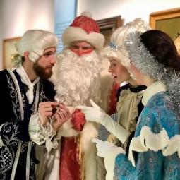 Праздничная программа «Новогодние забавы в Зимнем дворце или бал-маскарад у императрицы» 2020