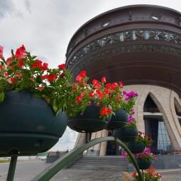 Открытие смотровой площадки Центра семьи «Казан» 2020