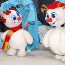Кукольный спектакль «Солнышко и снежные человечки»