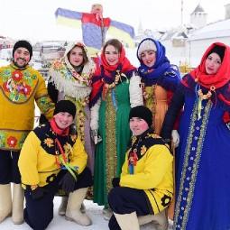 Масленица на Кремлевской набережной 2019