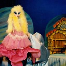 Кукольный спектакль «Дюймовочка»