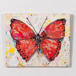 Мастер-класс «Бабочка из журналов» 2017