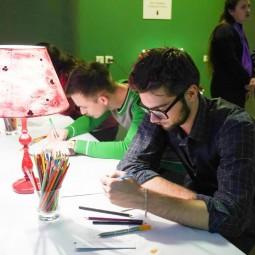 Выставка «Зимние медиа-фантазии по мотивам  Матисса и Шагала»