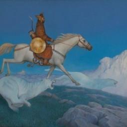 Выставка Азата Миннекаева «Небесные странники»