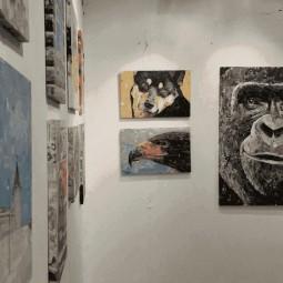 Выставка «100 необычных картин»