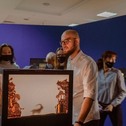 Лекция «История стереоизображения» на выставке «Пресинема» 2021