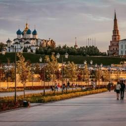 Осенний фотодень на Кремлевской набережной 2019