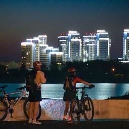 Ночной велофест в Казани 2021