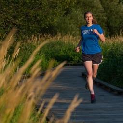 Утренние пробежки на озере «Кабан» 2020