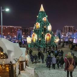 Старый новый год в деревне «Ханский двор» 2018