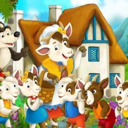 Кукольный спектакль «Волк и семеро козлят»