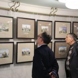 Выставка «Краски памяти. Деревянная Казань в акварелях архитектора Равиля Айдарова»