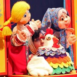 Кукольный спектакль «Идет коза рогатая»
