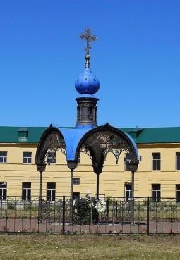 Часовня на месте обретения Казанской иконы Божьей Матери