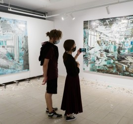 Выставка «Present in the past» Окружнова и Шаровой