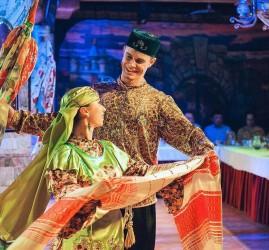 Театрализованное фольклорное шоу «KAZAN» 2018