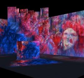 Мультимедийная инсталляция «Павел Филонов»