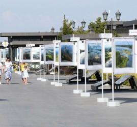 Выставка «Волга от истока до устья с высоты птичьего полета»
