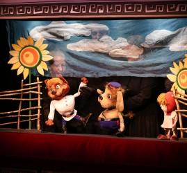 Кукольный спектакль «Заколдованный лес»