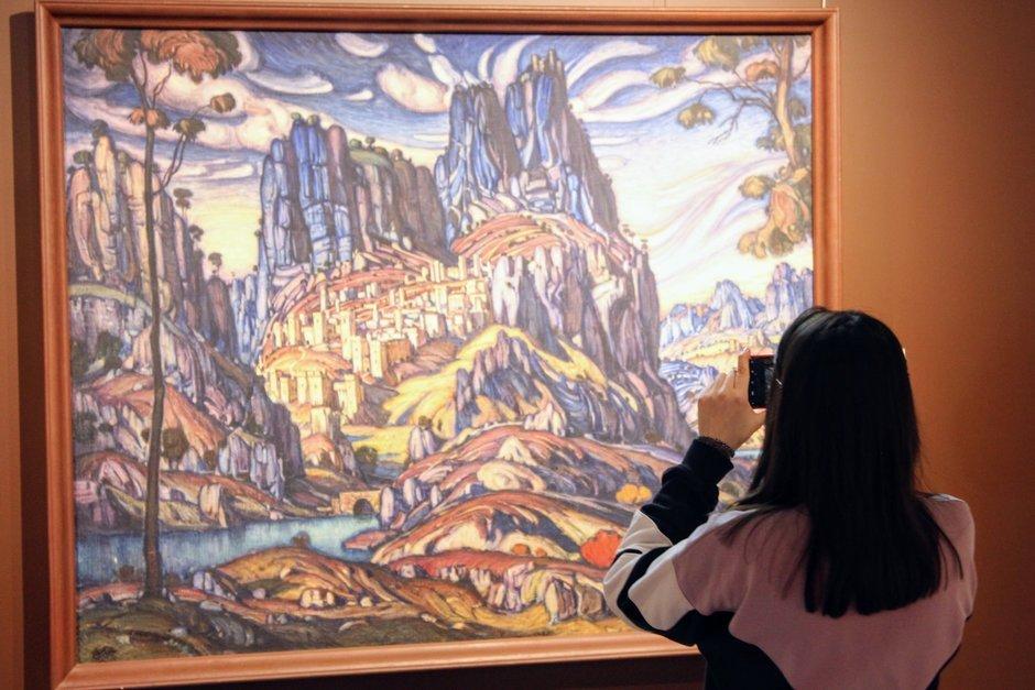 Выставка «Возвращение шедевров ГМИИ РТиз Третьяковской галереи. ОтРериха доКандинского»