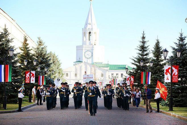 Праздничные мероприятия коДню города Казани 2017