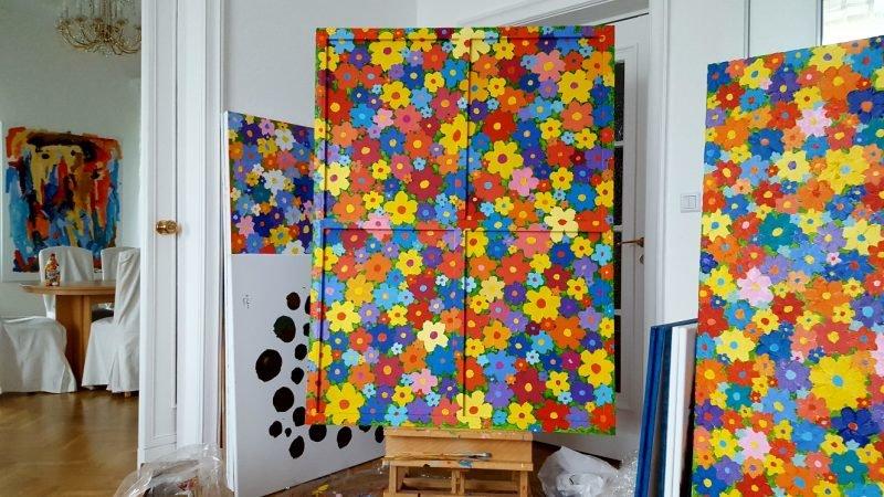 Выставка «Лихтенштейн. Цветы»