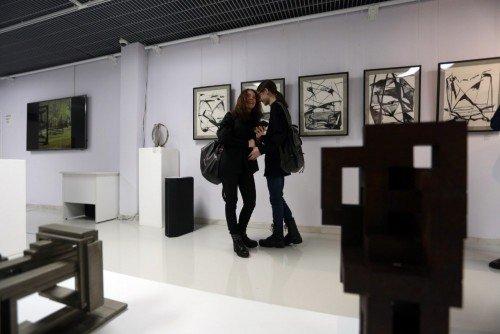 Выставка Массимо Гьотти «Гуманность металла»