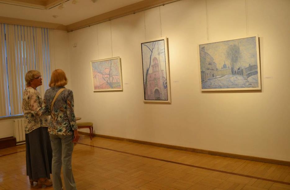 Выставка Игоря Петрова «Дух места»